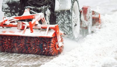 City,Service,Cleaning,Snow,,,A,Small,Tractor,With,A